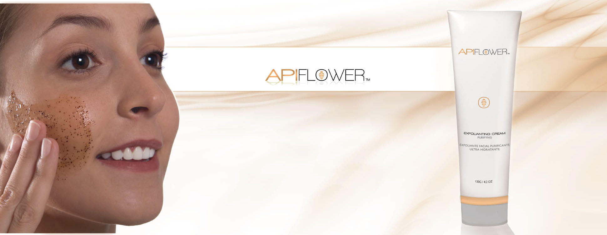 API FLOWER EXFOLIANTING CREAM