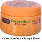 100% NATURAL CARROT SUN CREAM PAPAYA 300ML