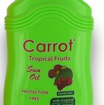 100% NATURAL CARROT SUN LOTION SPRAY TROPICAL FRUITS 200ML