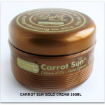 NEW Carrot Sun GOLD Cream 350ml