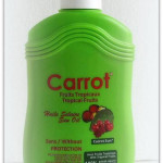 NEW Carrot Sun Tropical Fruits Lotion Spray 200ml
